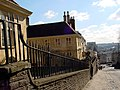 Looking down St Michael's Hill past the Almshouse - geograph.org.uk - 133476.jpg