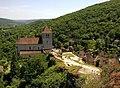 Lot Saint-Cirq-Lapopie Chateau Vue Sur L'Eglise 29052012 - panoramio.jpg