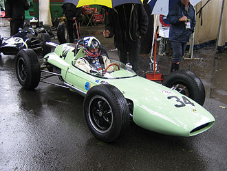 Lotus 24 - Lotus 24 Coventry Climax at the Pau GP in 2007