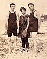 Louis Julius Freudenberg I (1894-1918); his sister, Ada Augusta Freudenberg (1885-1957); and Ada's husband, Ralph Kohlman (1885-1957).jpg