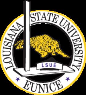 Louisiana State University at Eunice - Seal of Louisiana State University Eunice