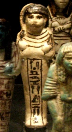 Huy (High Priest of Ptah) - Ushabti of Huy (Musée du Louvre)
