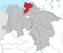 Lower Saxony CUX.svg