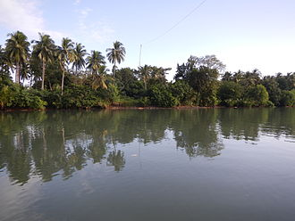 Lucena, Philippines - Iyam River in Cotta