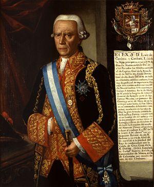 Luis de Córdova y Córdova - Portrait of Don Luis de Córdova y Córdova, Museo Naval de Madrid.