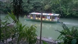 Loay, Bohol - Image: Lunch cruise on the Loboc river