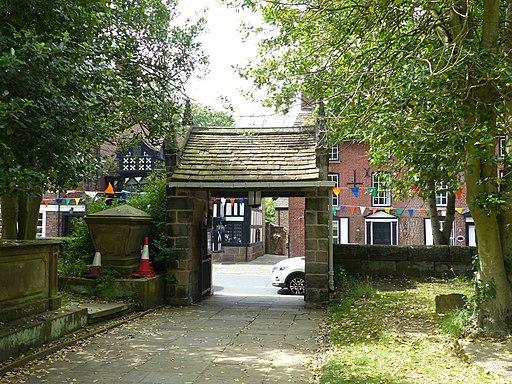 Lych gate, Prestbury