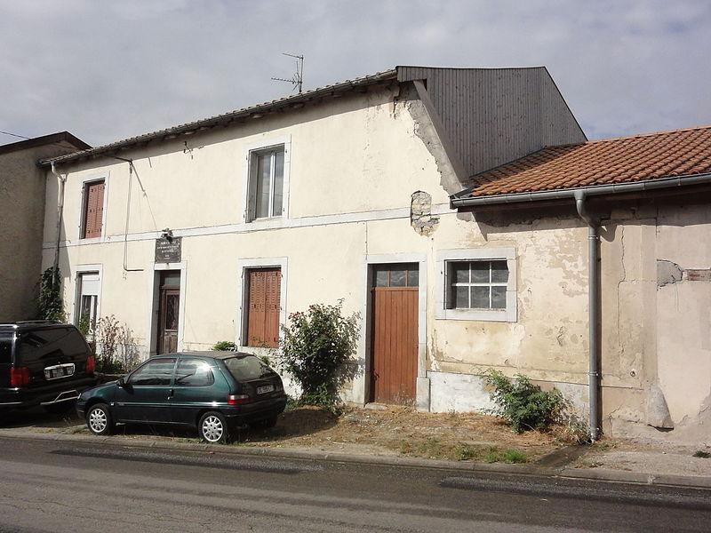 Ménil-la-Horgne (Meuse) maison natale Dom Calmet