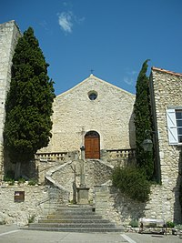 Méthamis - facade église.JPG