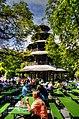 München, Englischer Garten, Biergarten am Chinesischem Turm (8287450580).jpg