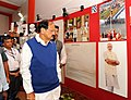 M. Venkaiah Naidu visiting after inaugurating the photo exhibition, during the 'Bharat Parv', organised by the Government of India as part of the Independence Day celebrations from 12th to 18th August, 2016, at Rajpath Lawns (1).jpg