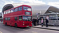 M161 outside Slough Bus Station on Slough Running Day 2013 (8732390453).jpg