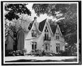 MAIN ELEVATION - Peck House, 180 East Main Street, Westfield, Chautauqua County, NY HABS NY,7-WESF,1-1.tif