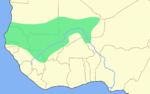 Carte de l empire du Mali � son apog�e
