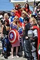 MCM 2013 - Marvel Comics group (8979541800).jpg
