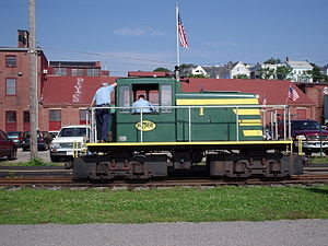 Narrow-gauge railroads in the United States - The Maine Narrow Gauge Railroad in Portland, Maine