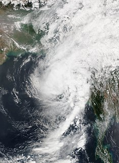 Cyclone Maarutha Tropical storm in 2017