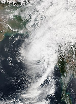 2017 North Indian Ocean cyclone season - Image: Maarutha 2017 04 16 Suomi NPP