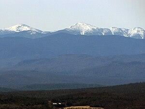 MacIntyre Mountains - Image: Mac Intyre Range, Adirondack Mountains