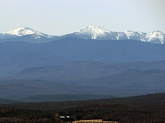 MacIntyre Mountains - Image: Mac Intyre Range, Adirondack Mountains