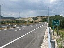 Photographie de l'autoroute M4