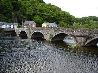 Dyfi Bridge bridge in United Kingdom