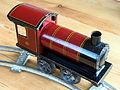 Made in Germany Tin clockwork toy train from around 1900 pic-001 4102x3087.JPG