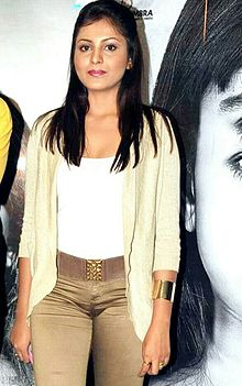 Madhu Shalini at Bhoot Returns promotion.jpg