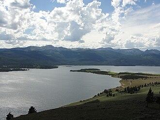 Hebgen Lake - Image: Madison Arm