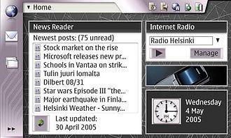 Maemo - OS2005 Desktop