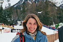 Magdalena Forsberg i Antholz i januari 2006.