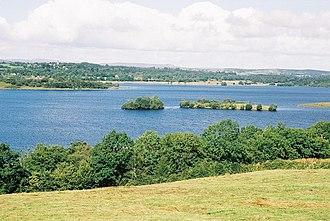 Lough Erne - Image: Magnificent view over Lower Lough Erne geograph.org.uk 473345
