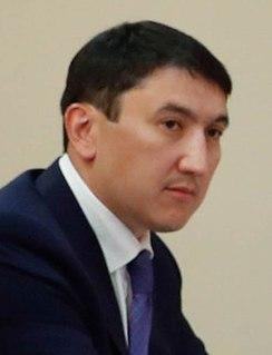 Magzum Myrzagaliev Kazakh politician