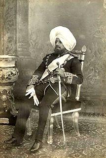 Pratap Singh of Jammu and Kashmir Maharaja of Jammu and Kashmir