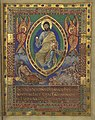 Maiestas Domini, fol. 6r, Metz Sacramentary, c. 869.jpg