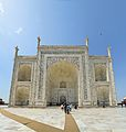 Main Southern Portal and Pishtaqs - Taj Mahal - Agra 2014-05-14 3839-3844 Compress.JPG
