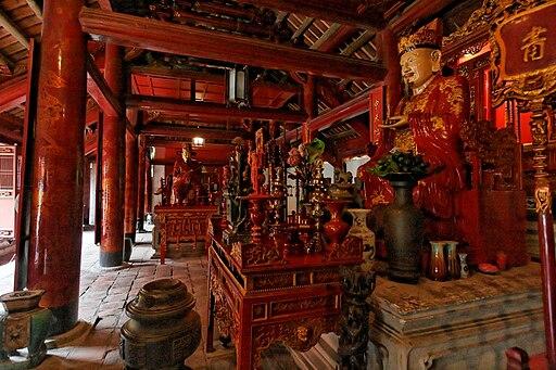 Main hall, Văn Miếu, Hanoi, Vietnam (2006)