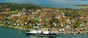 Maine Maritime Academy - Maine Maritime Academy operates two nearby campuses in Castine, Maine.