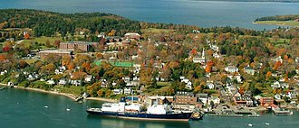 Maine Maritime Academy - Maine Maritime Academy is located in Castine, Maine.