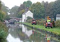 Maintenance near Tixall Lock, Staffordshire - geograph.org.uk - 1558417.jpg