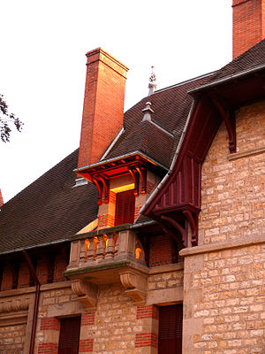 Maison Mantin - Image: Maison Mantin Moulins (3)
