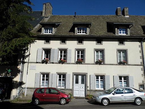 Maisons natale de Joseph Malègue à La Tour-d'Auvergne