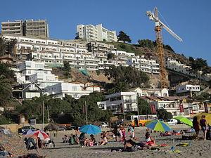 Cierran accesos a playa Maitencillo durante fin de semana largo