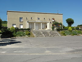 The town hall of Maizy