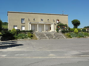 Maizy - The town hall of Maizy