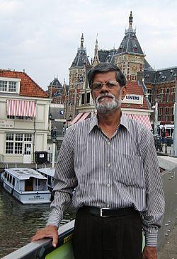 Malay Roychoudhury in Holland.JPG