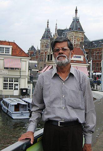 Malay Roy Choudhury - Roy Choudhury in Amsterdam in 2009.