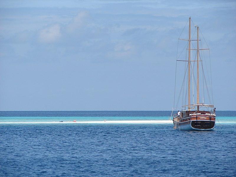 Boat and Atoll