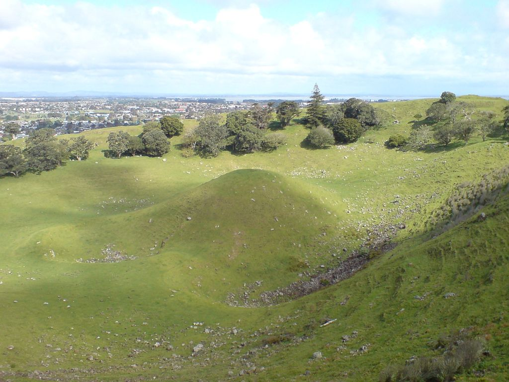 Auckland NZ Volcano Cone