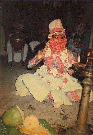 Killikkurussimangalam - Chakyar dance